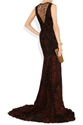 Roberto Cavalli Ruched Animal Print Stretch Jersey Gown Net A Porter.Com