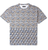 Raf Simons c2 a0Flower and Fence Print Cotton Jersey T Shirt c2 a0 7c c2 a0MR PORTER
