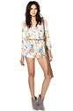 Flower Hour Romper Shop Clothes At Nasty Gal