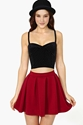 Minkpink Roller Disco Velvet Bustier In Clothes Tops At Nasty Gal