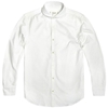 Edifice Shawl Collar Oxford Shirt White