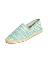 Ikat Mint White Espadrilles for Men from Soludos Soludos Espadrilles