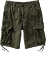 Men 27s Linen Blend Tie Leg Cargo Shorts 10 22 7c Old Navy