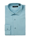 Peter England Cotton Rich Tailored Fit Mens Turquoise Shirt Regency Shirt Company