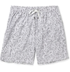 Dan Ward Mid Length Leaf Print Swim Shorts Mr Porter