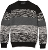 Dolce Gabbana Chunky Knit Melange Wool Sweater Mr Porter