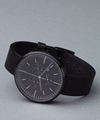 302 Series PVD Black 2f Black Leather 7c Uniform Wares