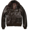 Schott c2 a0G1 Shearling Collar Leather Bomber Jacket c2 a0 7c c2 a0MR PORTER
