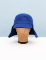 MM6 Wool Hat with Ear Flaps Blue
