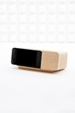 Areaware Wooden Iphone 4 Alarm Dock Urban Outfitters