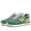 New Balance ML574OST Floral Hemp Green