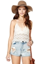 Somedays Lovin' Tamborine Lace Crop Top Shop Clothes At Nasty Gal