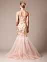 Woven Jacquard Embroidered Mermaid Gown by Carolina Herrera brought to you by Gilt