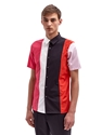 Raf Simons Men's Short Sleeved Colour Block Shirt