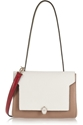 Anya Hindmarch Bathurst Elaphe Trimmed Textured Leather Shoulder Bag Net A Porter.Com