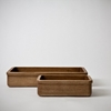 Mjolk Chestnut Bread Basket By Tomii Takashi Bread Basket