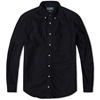 Gitman Vintage Overdyed Oxford Shirt Black