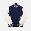 Champion By Todd Snyder Spring Varsity Jacket Navy Anthem