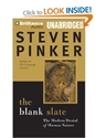 The Blank Slate The Modern Denial Of Human Nature Amazon.Co.Uk Steven Pinker Victor Bevine Books