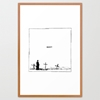 DON 27T Framed Art Print by Mark Vomit 7c Society6