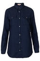 MOTO Premium Indigo Oversize Shirt New In This Week New In Topshop