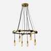 Tangled Chandelier Fixture Natural Brass Schoolhouse Electric Supply Co.