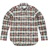 Edifice Madras Check Button Down Shirt Red Multi 