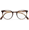 Oliver Peoples Sir O'malley Round Framed Acetate Glasses Mr Porter