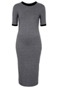 Midi Ribbed Trim Dress Style Steals New In Topshop Usa