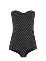 Polka Dot Swimsuit Dolce Gabbana Matchesfashion.Com