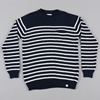 Norse Projects Sigfred Roll Linen Cotton Knit Dark Navy