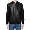 A.P.C X Louis W. Giovanni Leather Bomber Jacket Black