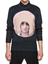 GIVENCHY MADONNA PRINT JERSEY SLIM FIT T SHIRT LUISAVIAROMA LUXURY SHOPPING WORLDWIDE SHIPPING FLORENCE