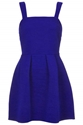 Twist Rib Skater Dress Dresses Clothing Topshop Usa