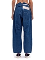 Levi's Red Women's Bagged High Waisted Indigo Jeans Ln Cc