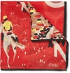 Drake 27s c2 a0Horse Race Print Silk Pocket Square c2 a0 7c c2 a0MR PORTER