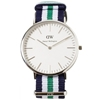 Daniel Wellington Classic Nottingham Watch Silver