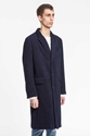 Coat Ten Terry Cloth Navy Our Legacy
