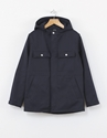 A.P.C. Double Face Parka Navy Nitty Gritty Store