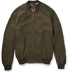 Gucci Nubuck Leather Bomber Jacket Mr Porter