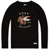 Neighborhood Usaf Crew Sweat Black