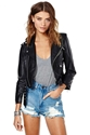 Nasty Gal Moto Zip Crop Jacket Shop Clothes At Nasty Gal