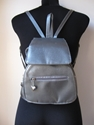 Silver Metallic Backpack Mini 90'S Grunge By Vintagesuggestion