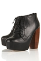 ARIELLE High Lace Up Boots Edited New In Topshop