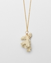 Coral Necklace In Cream