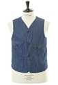 Cruzer Vest Supreme 5Oz Denim Post O'alls