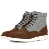 Diemme Firenze Boot Chocolate Vesuvio Suede 26 Grey Felt