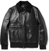 Neil Barrett Shearling Collar Leather Aviator Jacket Mr Porter