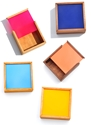Nunabee Square Color Chip Box 7c LEIF