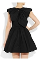 Carven Taffeta Mini Dress Net A Porter.Com